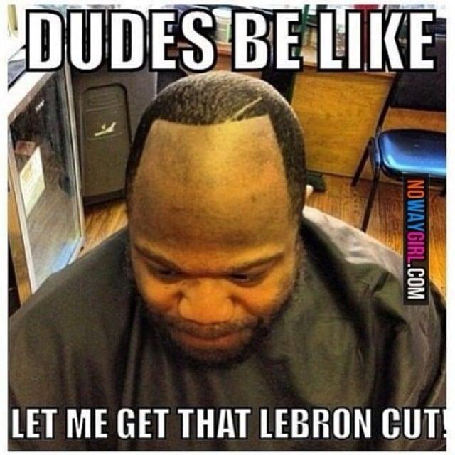 lebron james hairline meme - photo #2