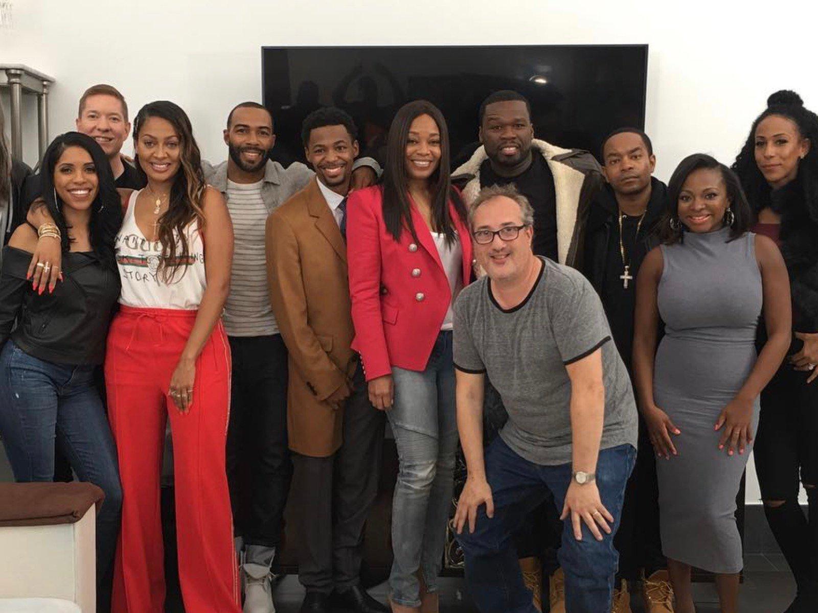 50 Cent Power Cast