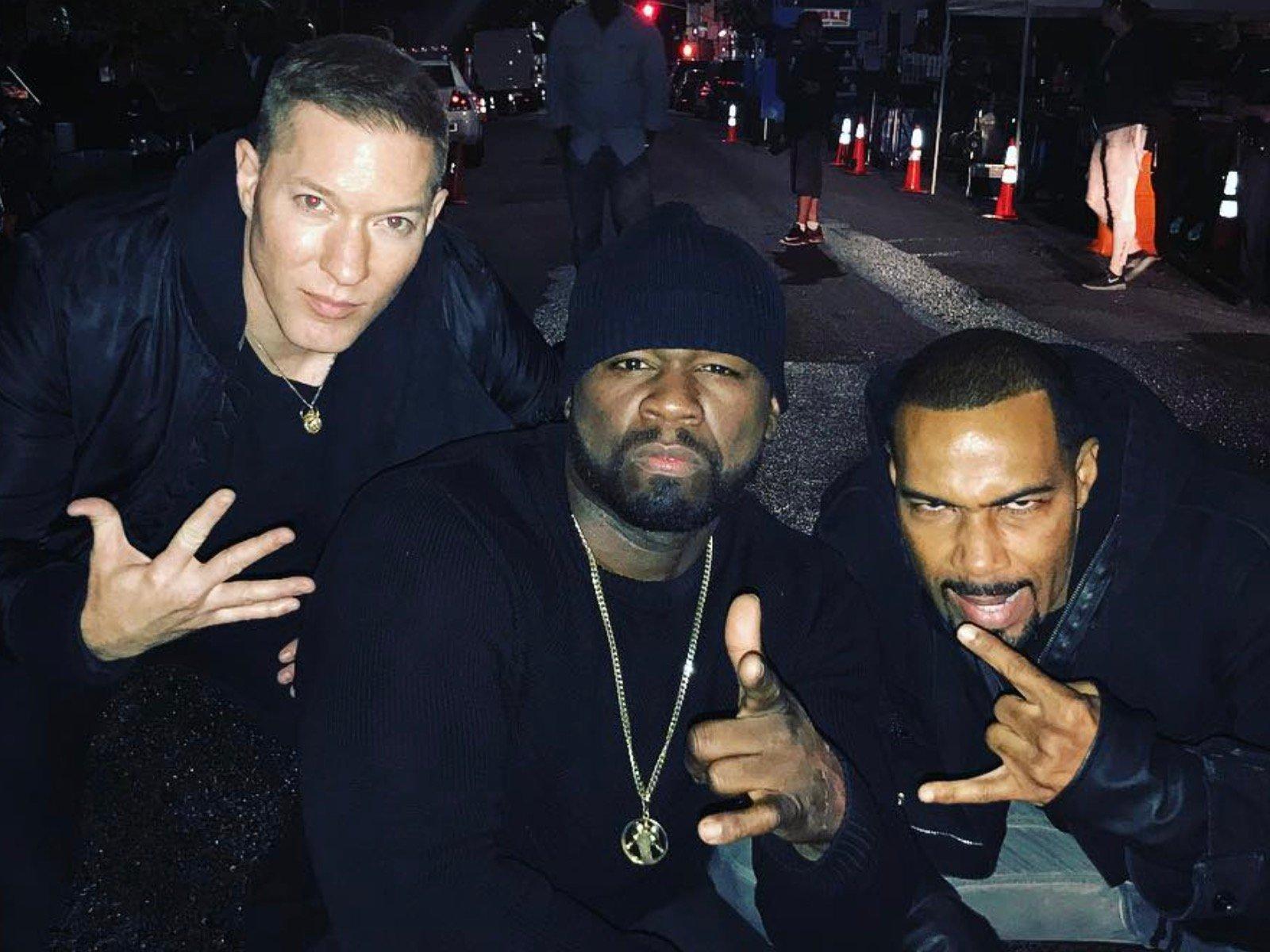 Joseph Sikora 50 Cent Omari Hardwick