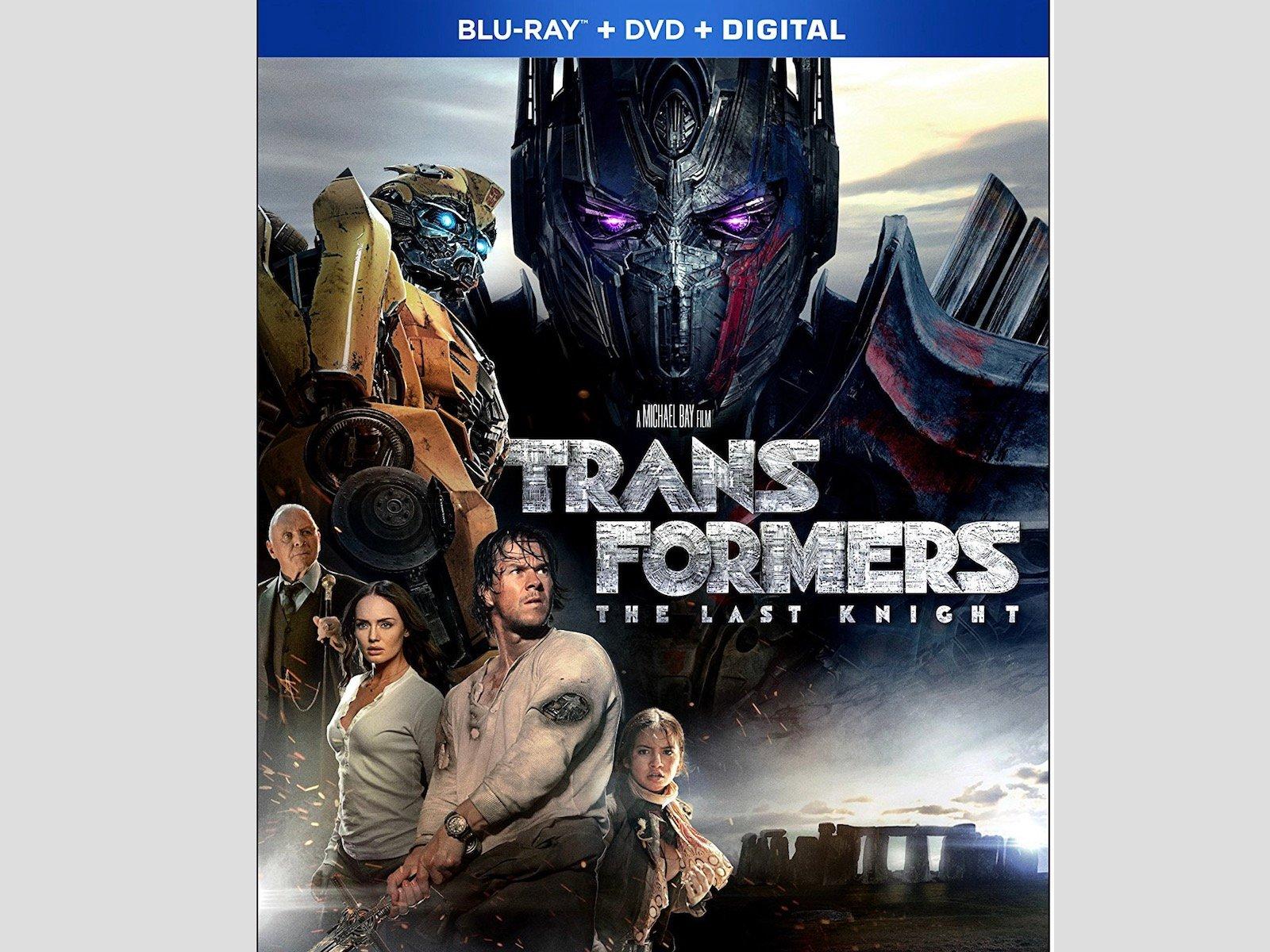 Transformers The Last Knight Blu-ray