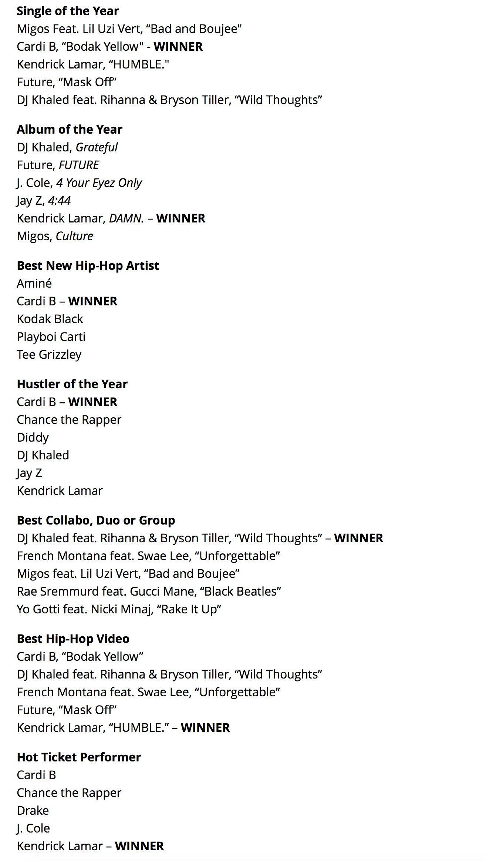 Cardi B Reflects On Slaying BET Hip Hop Awards: