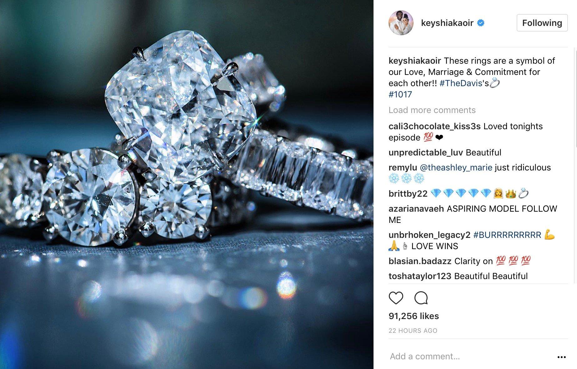 Keyshia Ka Oir Shows Everyone Just How Iced Out Gucci Mane