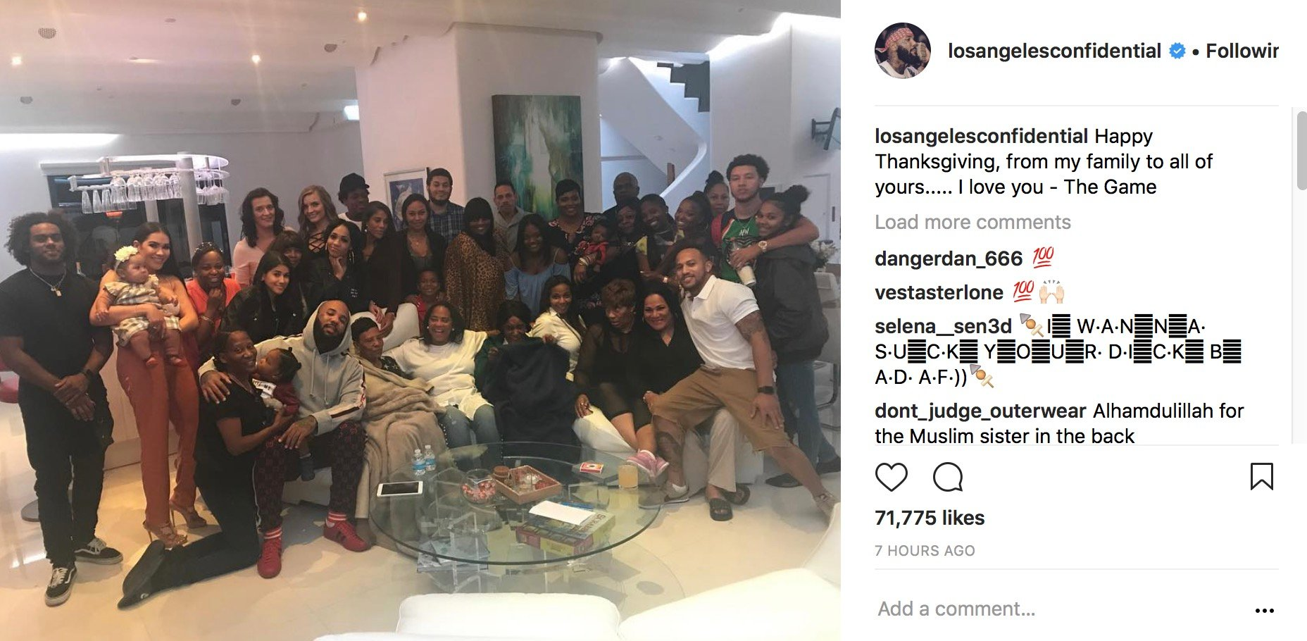"""Game Gets X-Mas Celebration Lit Before Escaping LA Wildfires: """"I Was Able To Get The Tree Bout 75% Done B4 We Left"""" –"""