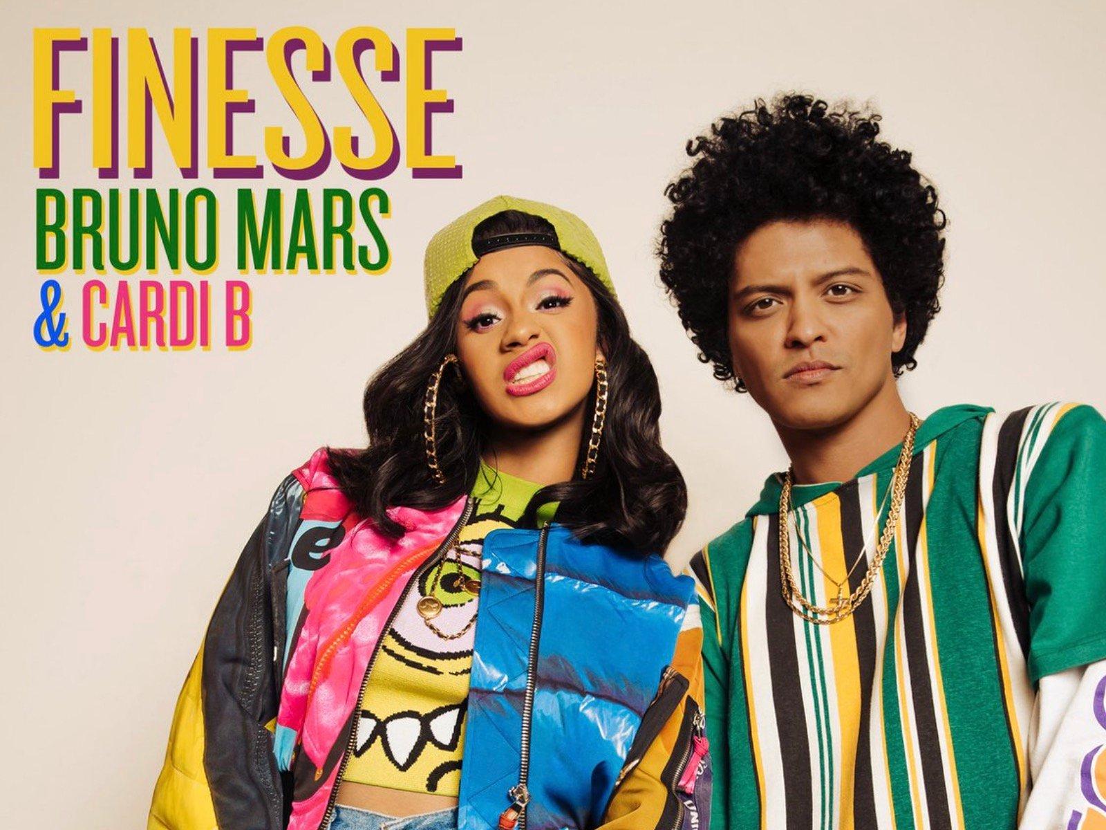 Cardi B Bruno Mars Finesse