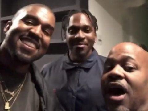 Kanye West Pusha T Dame Dash