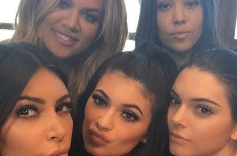 Kim Kardashian Khloé Kardashian Kylie Jenner Kendall Jenner Kourtney Kardashian