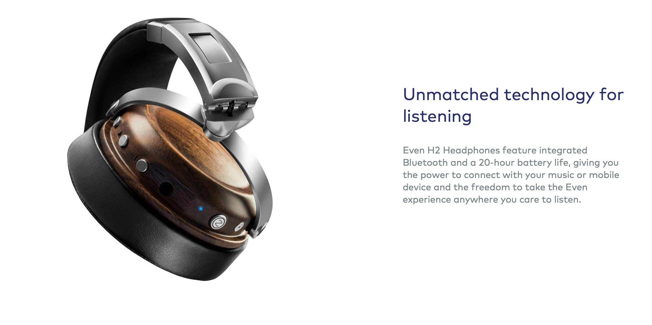 Wanna Hear Eminem, Travis Scott & Quavo In High Clarity? Look No Further Than Even H2's Custom EQ Wireless Headphones –