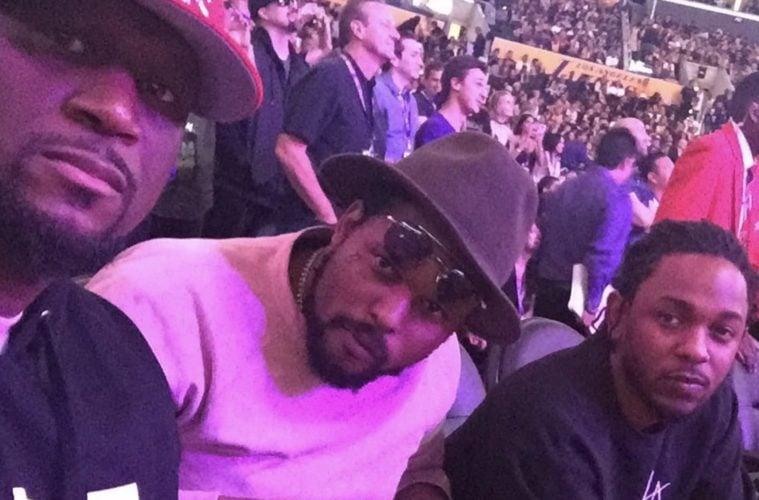 Kendrick Lamar Performs During Halftime Of National Championship Game