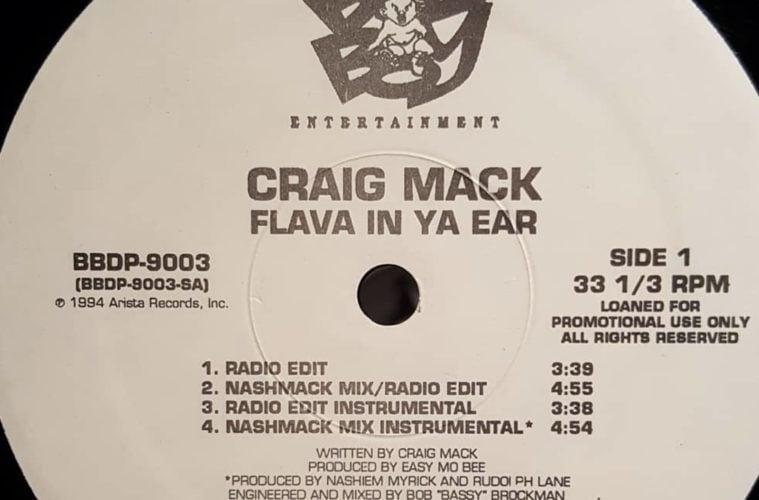 Bad Boy Craig Mack Flava In Ya Ear