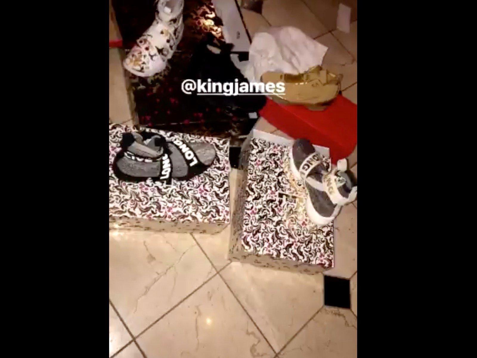 Offset LeBron James Sneakers