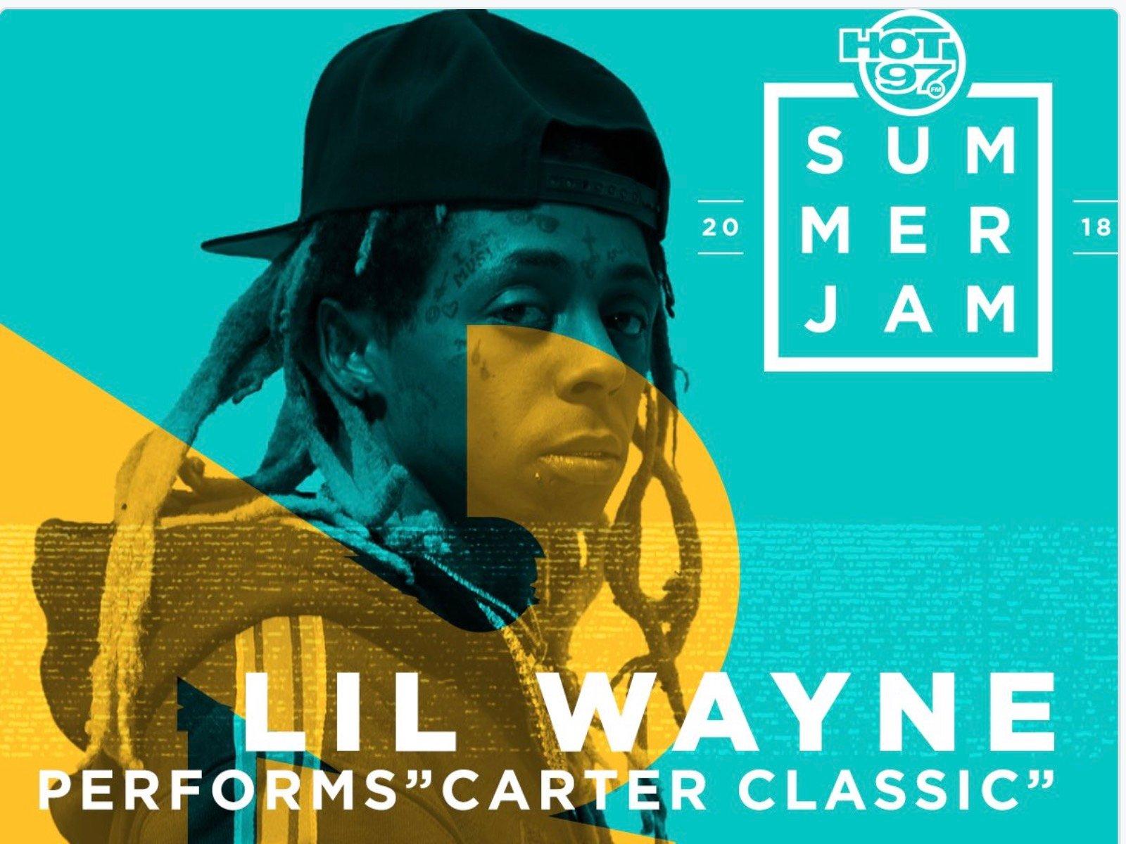 Hot 97 Lil Wayne Summer Jam