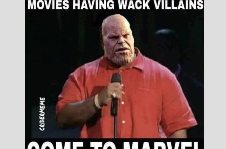 Marvel Studios Meme Thanos