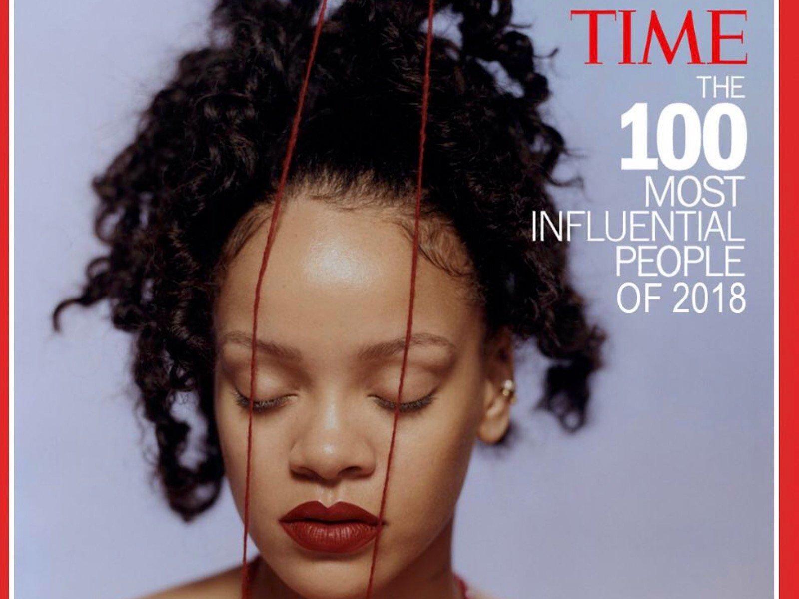 Rihanna TIME