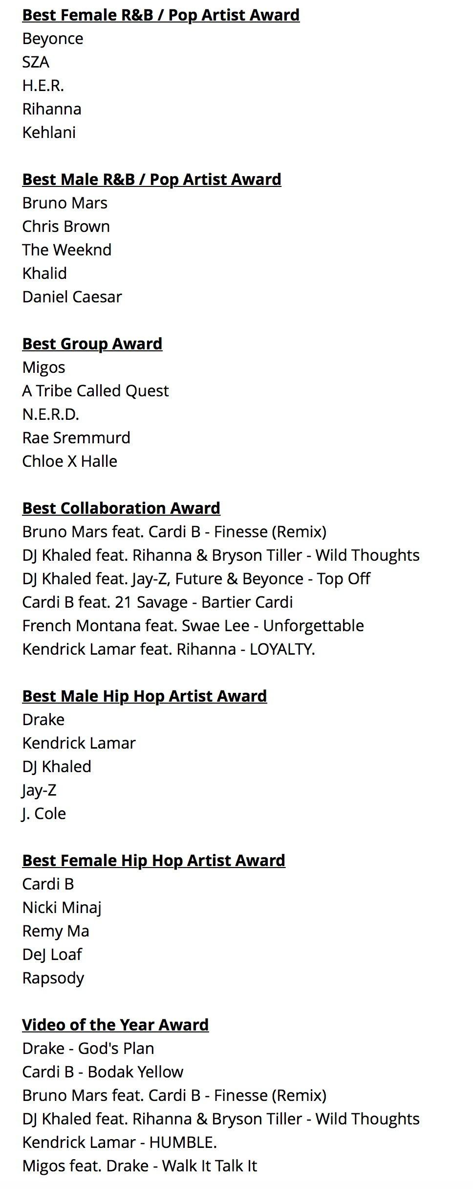 Migos, Nicki Minaj, Janelle Monae & More Announced For BET Awards Performances –