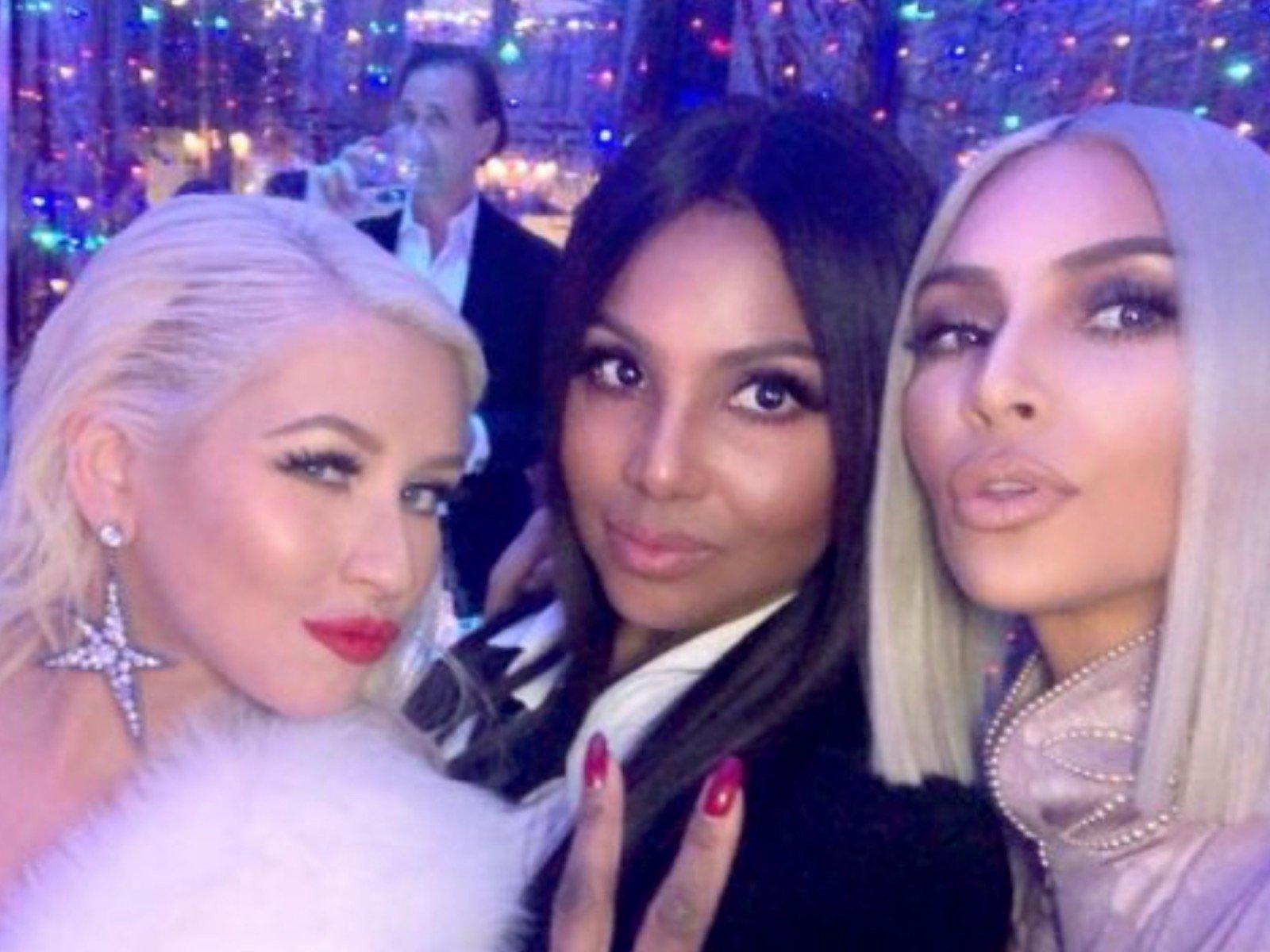 Toni Braxton Kim Kardashian