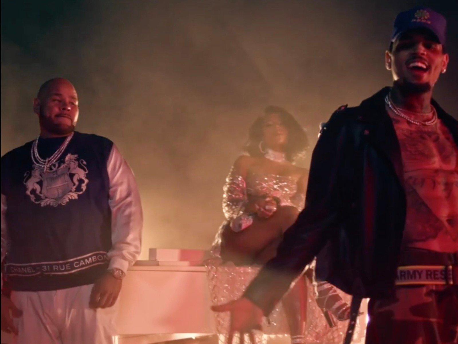 Fat Joe Chris Brown Attention Video