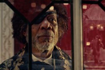 Morgan Freeman Nutcracker and the Four Realms