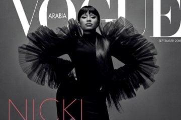 Nicki Minaj Vogue Arabia
