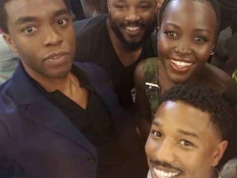 Black Panther Selfie Pic