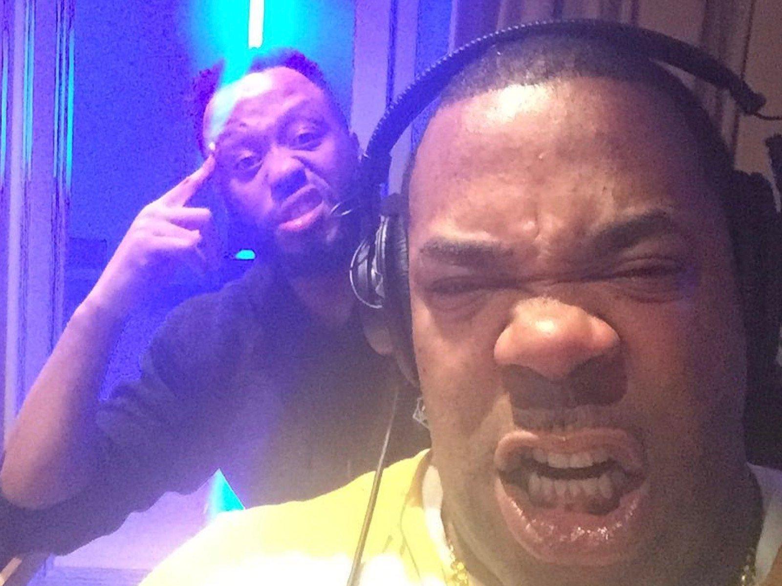 Busta Rhymes Selfie