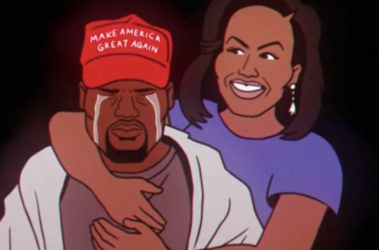 Kanye West Childish Gambino Clip