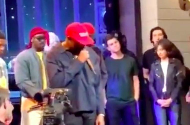 Kanye West SNL Chris Rock Story