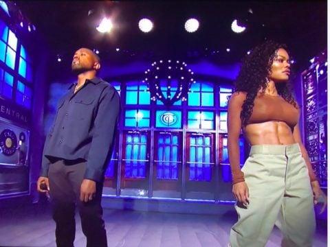 SNL Kanye West Teyana Taylor