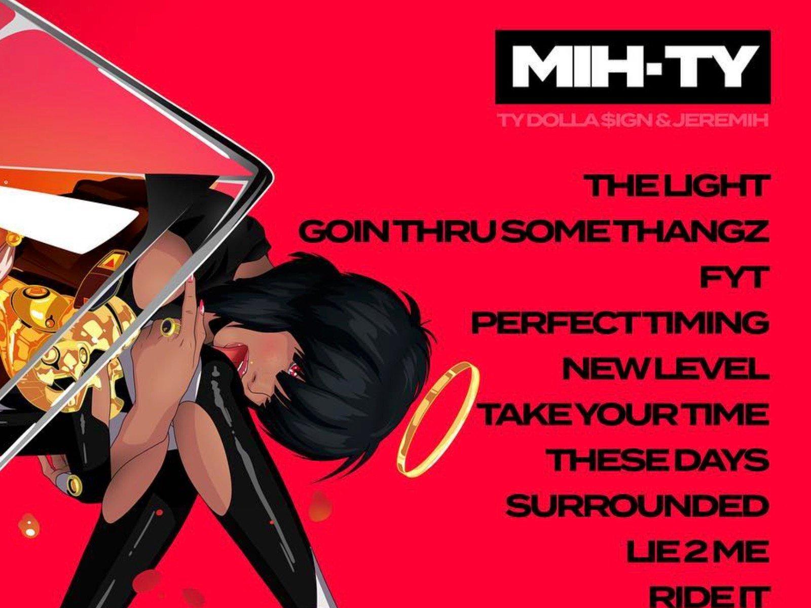 Mih-Ty Tracklisting