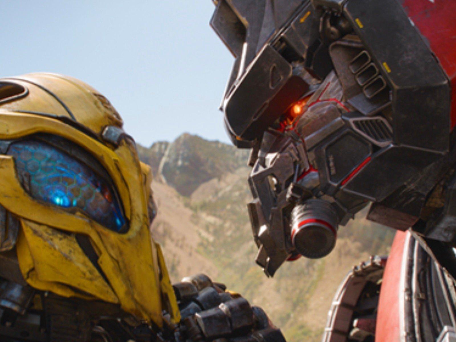 Bumblebee Transformers Movie Scene