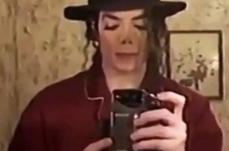 Michael Jackson Selfie