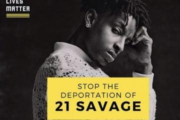21 Savage Petition