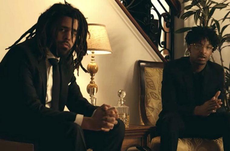 J. Cole 21 Savage A Lot Video