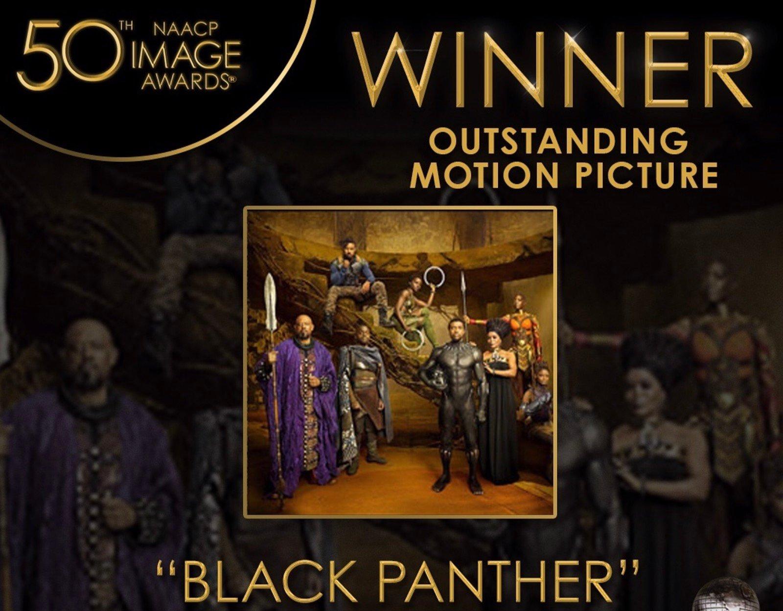 NAACP Image Awards Black Panther