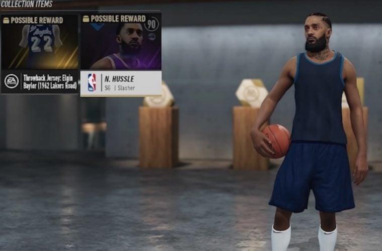 Nipsey Hussle NBA Live 19