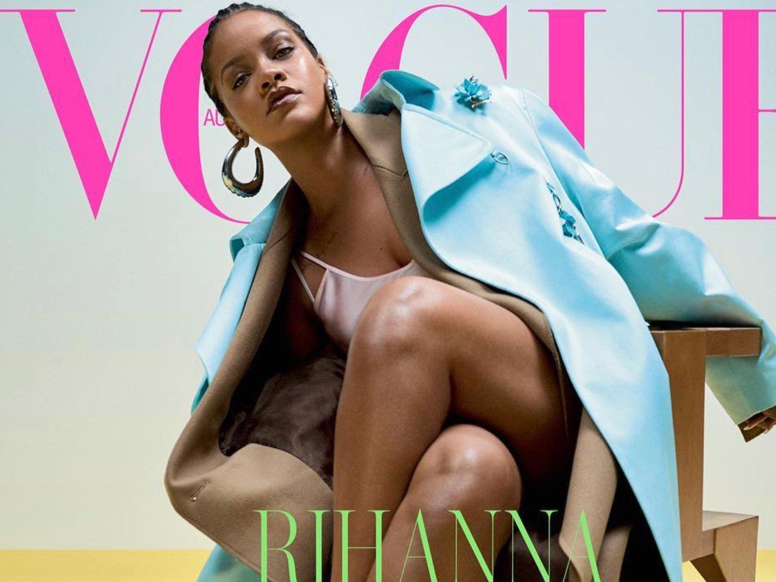 VOGUE Australia Rihanna