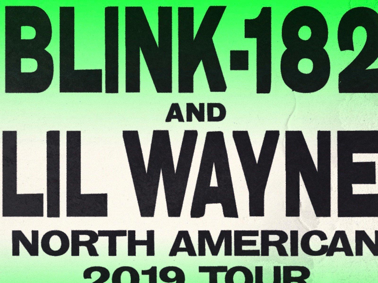 Blink-182 Lil Wayne Tour