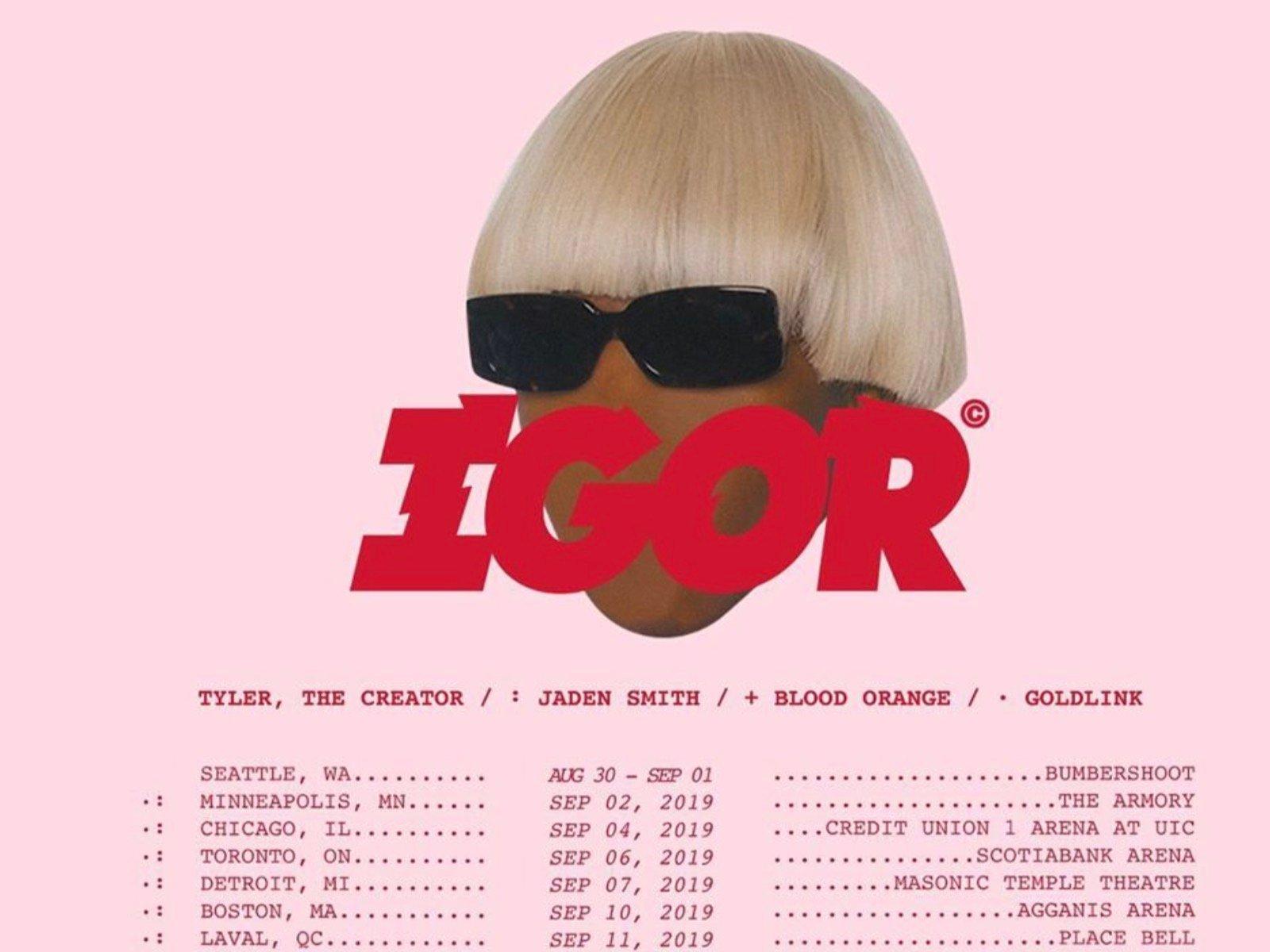 IGOR Tour Announcement