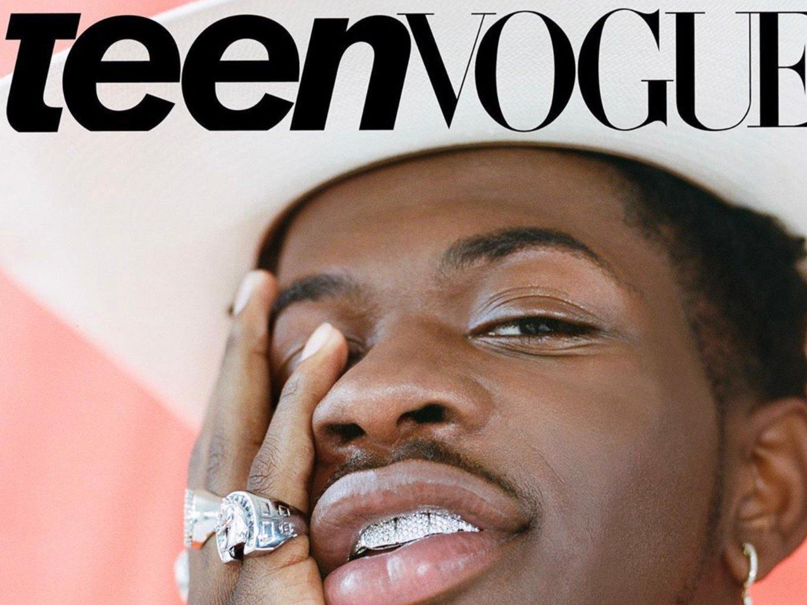 Lil Nas X Teen Vogue