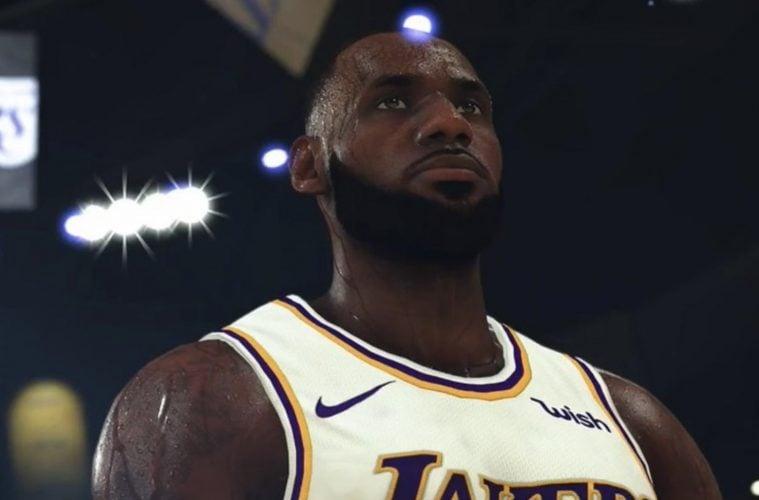 LeBron James NBA 2K20