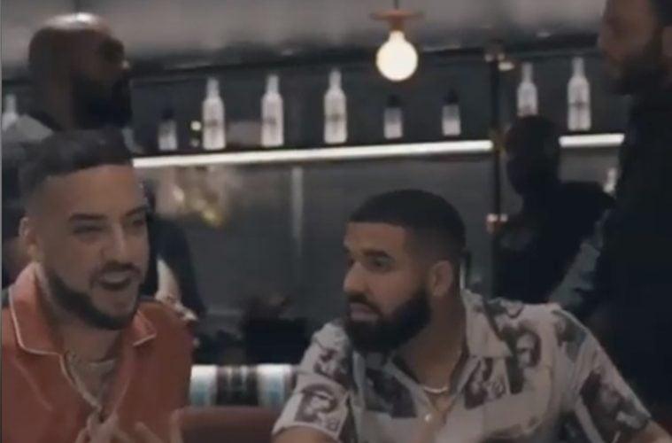 French Montana Drake Video