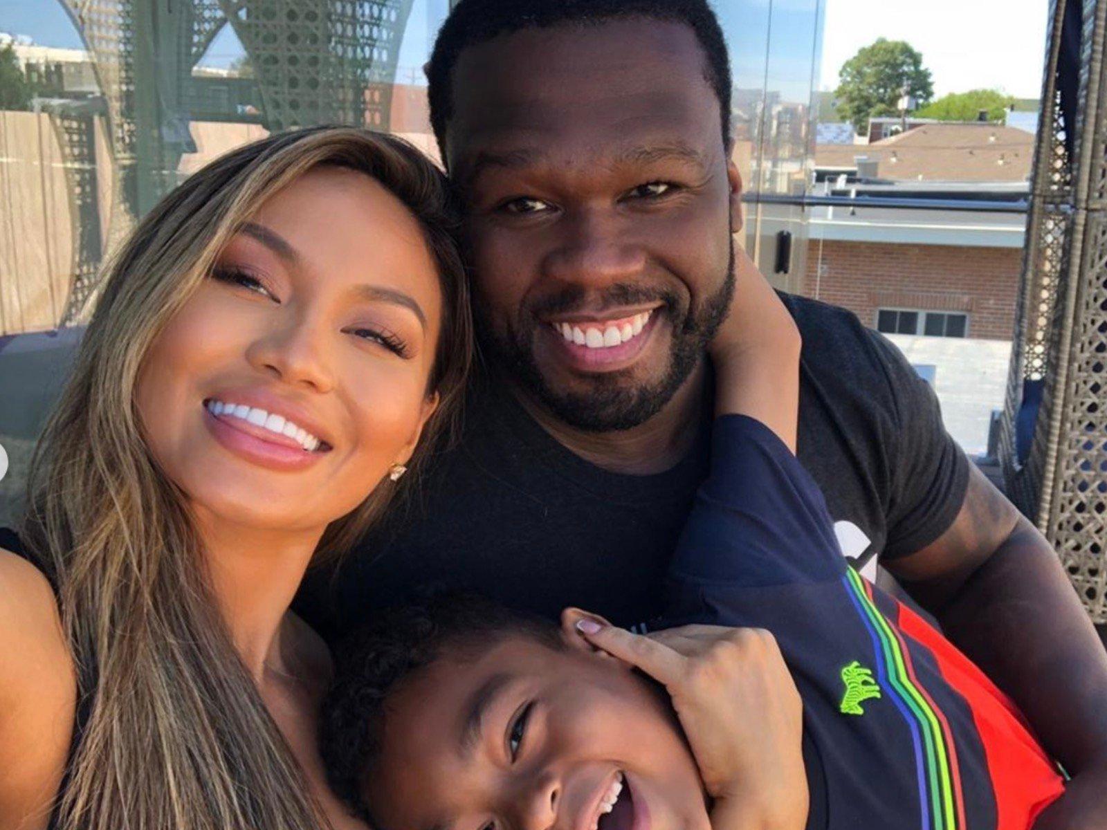 Daphne Joy 50 Cent Sire Jackson Selfie Again