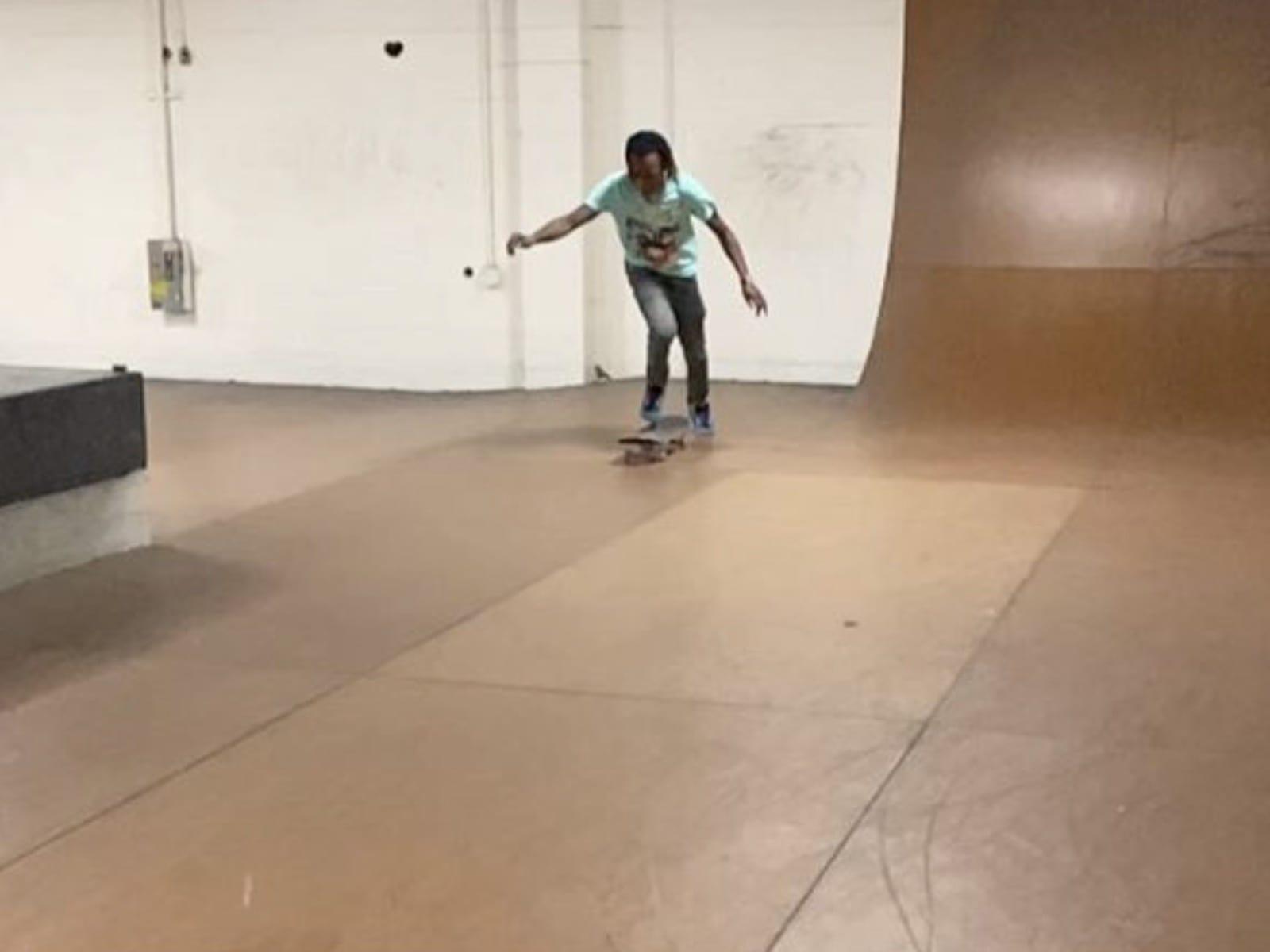 Rich The Kid Skateboarding 10-30-19