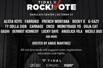 TIDAL X Rock The Vote