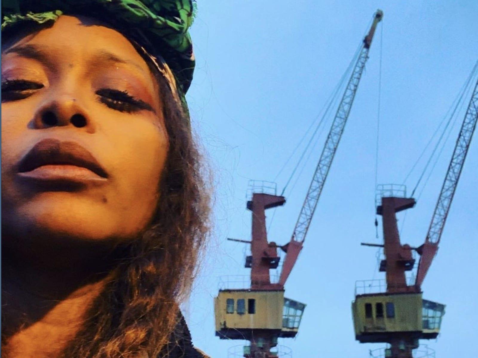 Erykah Badu 11-28-19 Selfie