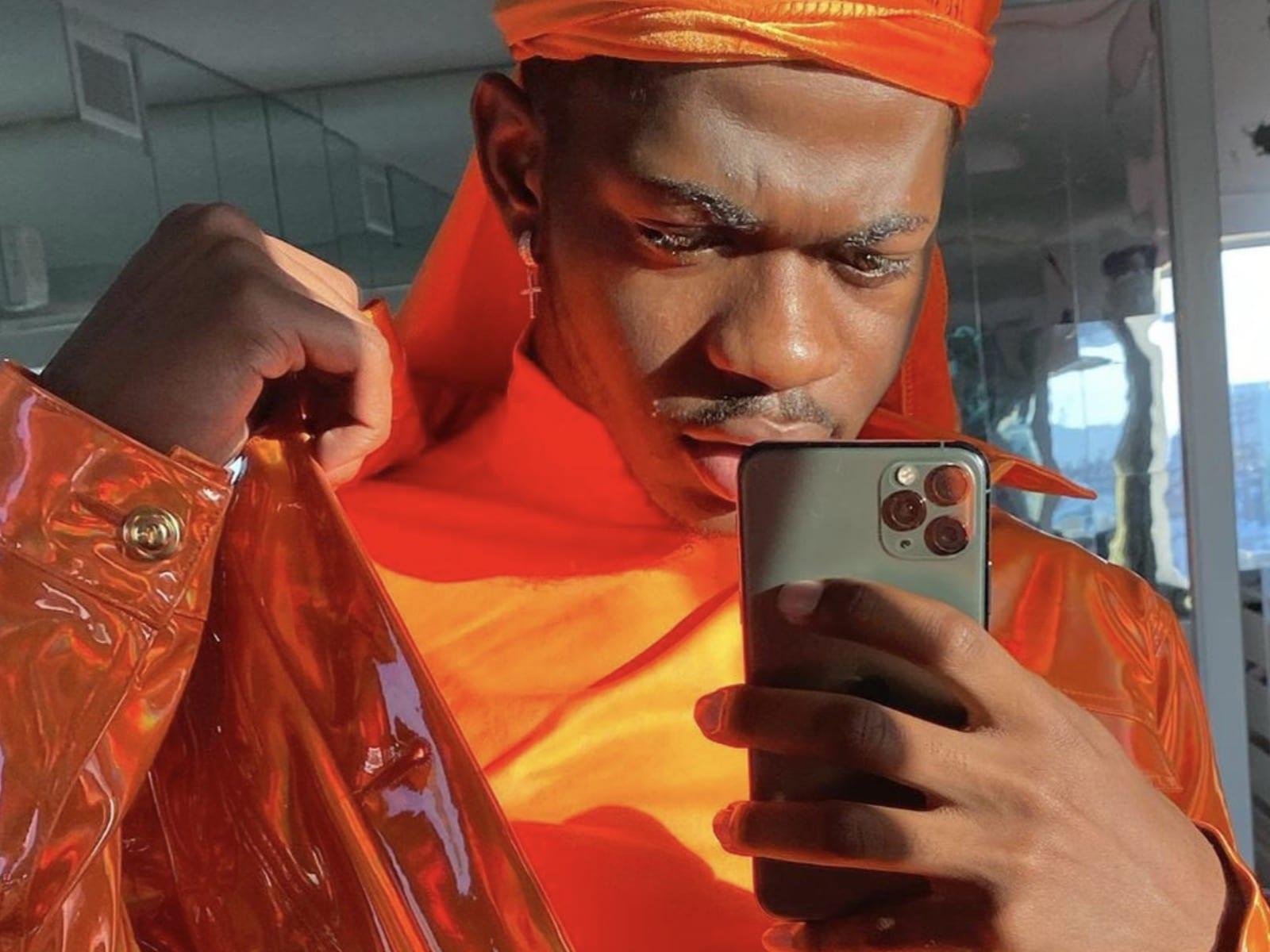 Lil Nas X Selfie 11-22-19