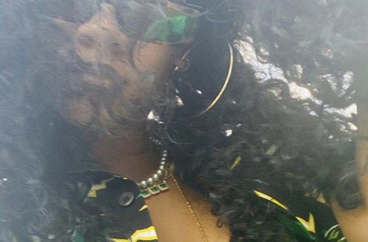 Rihanna Selfie 11-21-19