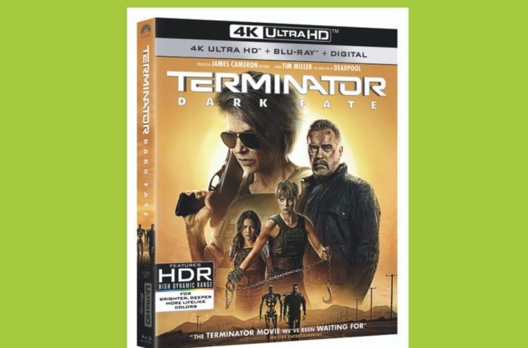 Terminator Dark Fate Cover Art Blu-ray Digital HD