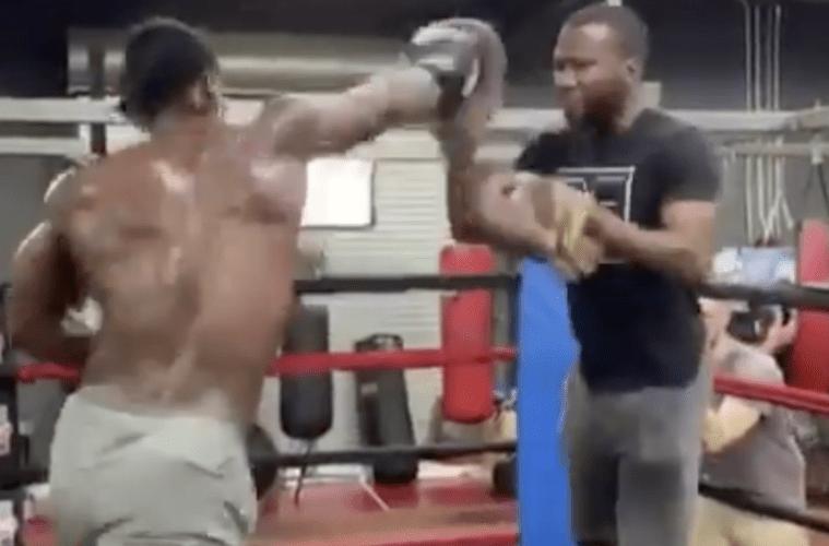 Antonio Brown Boxing Clip