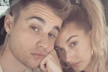 Justin Bieber Hailey Baldwin Selfie