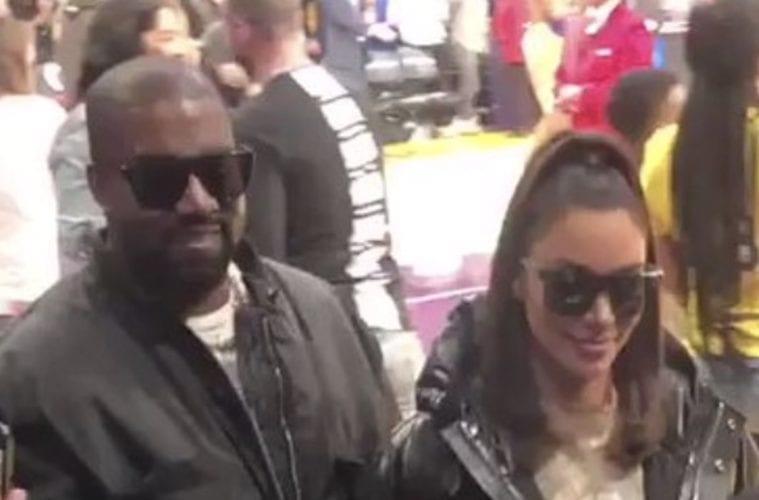 Kanye West Kim Kardashian Clip